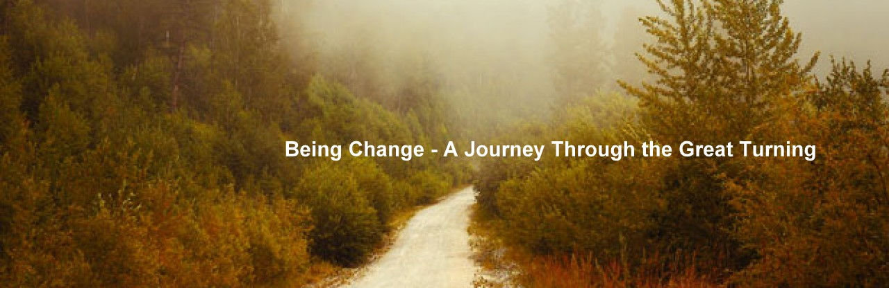 "Being Change - A Journey Through the ""Great Turning"""